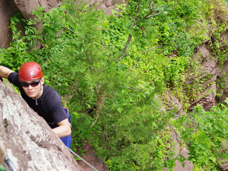 Rock Climbing & Rappelling Are Back