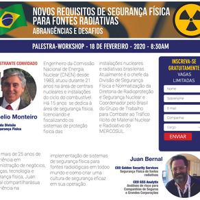 Upcoming workshop in Brasil