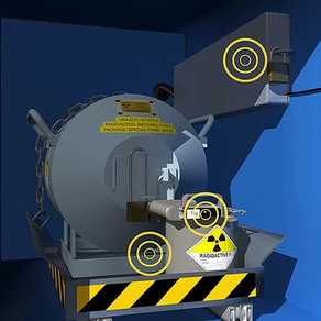 Protección de fuentes radiológicas sobre la marcha