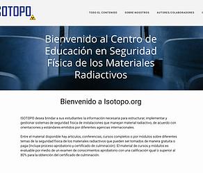 GSS lanza un sitio web en español de educación en seguridad física, ISOTOPO