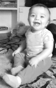 """""""Kute Kids""""… THIS KUTE KID is... Enzo Raine Gasca, he was born June 26, 2015. His parents are Cort-ney Edmonds and Jose Gasca Jr. Enzo's grandparents are Tm Edmonds, Christine Conklin, Jose Gasca Sr. and Helen Gas-ca. Great grandparents are Jeanne Stanley and Danny Day. Share a photo of your """"Kute Kids"""" with your friends, neigh-bors, and relatives who read the Tri-City Record. Make sure you write your kids' names on the back of the picture and include any other information about it you'd like to see in the paper, including mom and dad, grandma and grandpa, and so on. Send the """"original"""" photo to the Tri-City Record, P.O. Box 7, Watervliet, MI 49098. Pick up the photo after it appears in the paper or include a stamped, self-addressed envelope and we'll mail it back to you. Where are your """"Kute Kids""""?"""