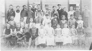 Coloma School circa 1888