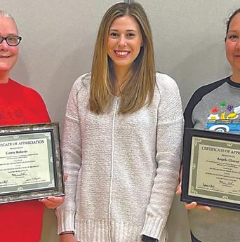 Hartford Schools award bids; Staffers recognized