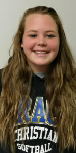HUTSELL IS ALL STATE… Grace Christian's Jaidyn Hutsell was named to the Division 4 First Team All State. As a pitcher for the Lady Patriots, Hutsell posted a 21-7 record this year. She pitched 178 in-nings, tossed seven shutouts, and had an ERA of 1.69. She recorded 303 strikeouts.