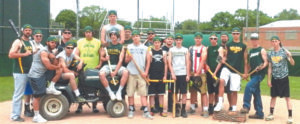 SAC DIVISION CHAMPIONS… The Coloma Varsity Baseball won the Southwestern Athletic Confe-rence – Lakeshore Division crown after remaining unde-feated for the 2016 season. The squad takes part in district ac-tion this weekend.