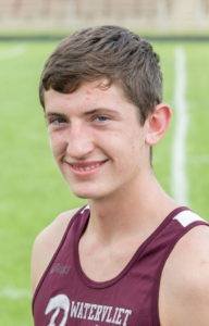 KERR CAPTURES FIRST TEAM ALL-CONFERENCE AWARD… Watervliet cross country star Jobe Kerr was named to the First Team All-Conference list for the South-western Athletic Conference. On Saturday, Kerr finished 38th overall in state cross country competition at the Michigan International Speedway.