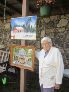 Marge Stromeyer, 91, taught for 30 years before taking up painting.