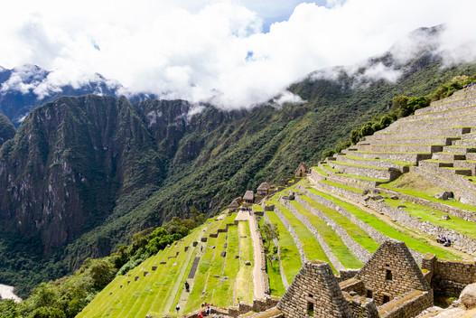 Culture en terrasse Machu Picchu