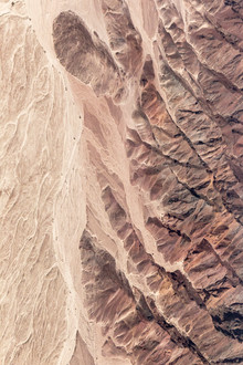 Nature painting nasca peru from sky