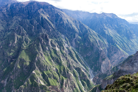 The deepest Canyon in the world: Colca in Peru