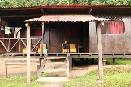 Cabane Parque de Manu Perou Amazonie