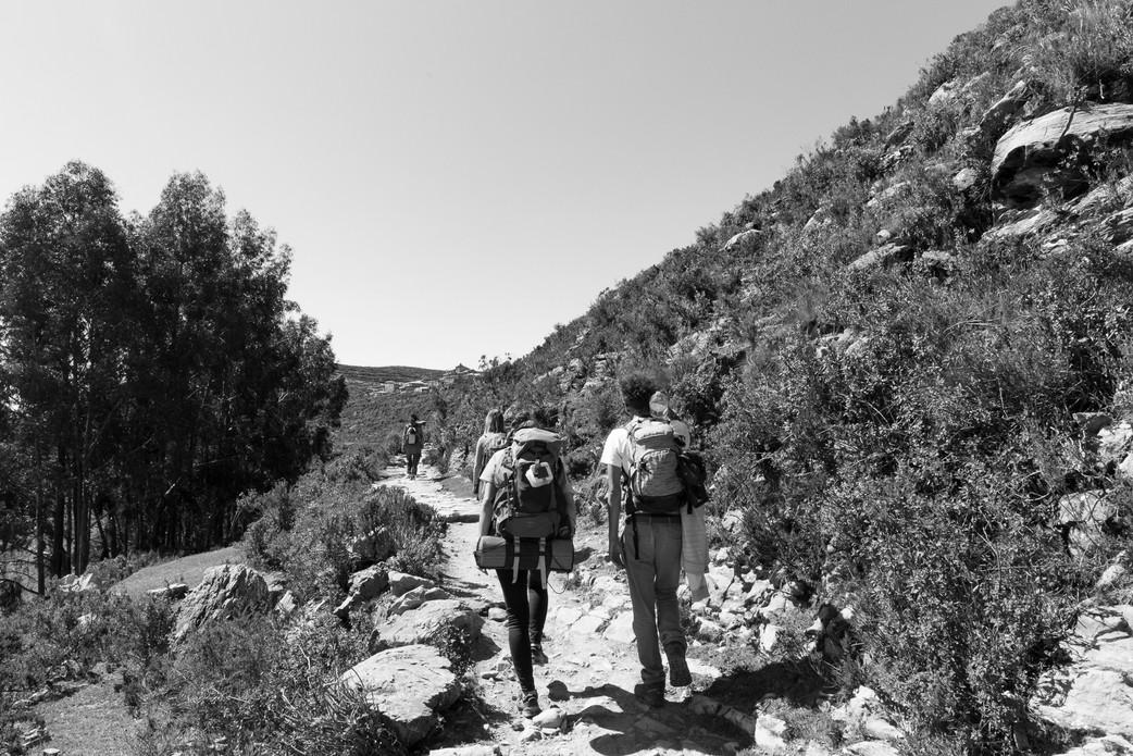 Petite randonnée sur l'Isla del Sol - Lac Titicaca - Bolivie