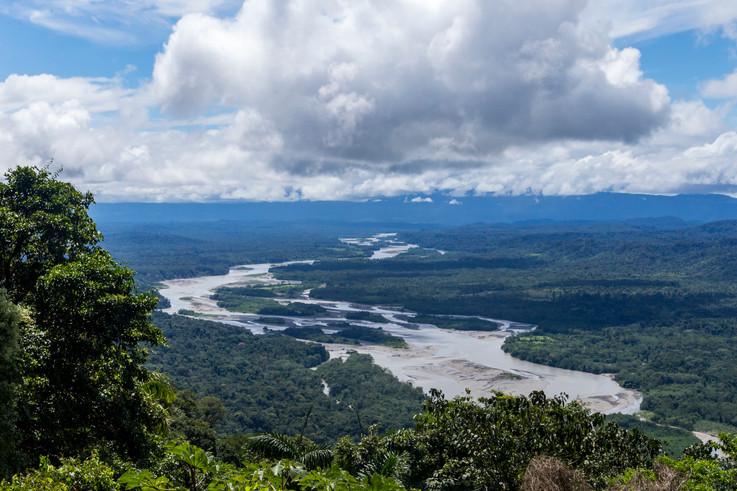 Landscape Amazonia Peru Parque de Manu