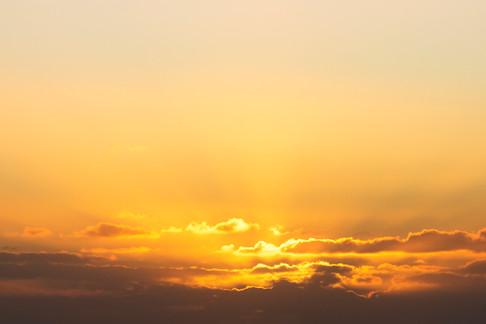 Coucher de soleil côte Pacifique sur Chiloé