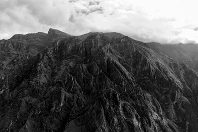 Deep Canyon of Colca in Peru