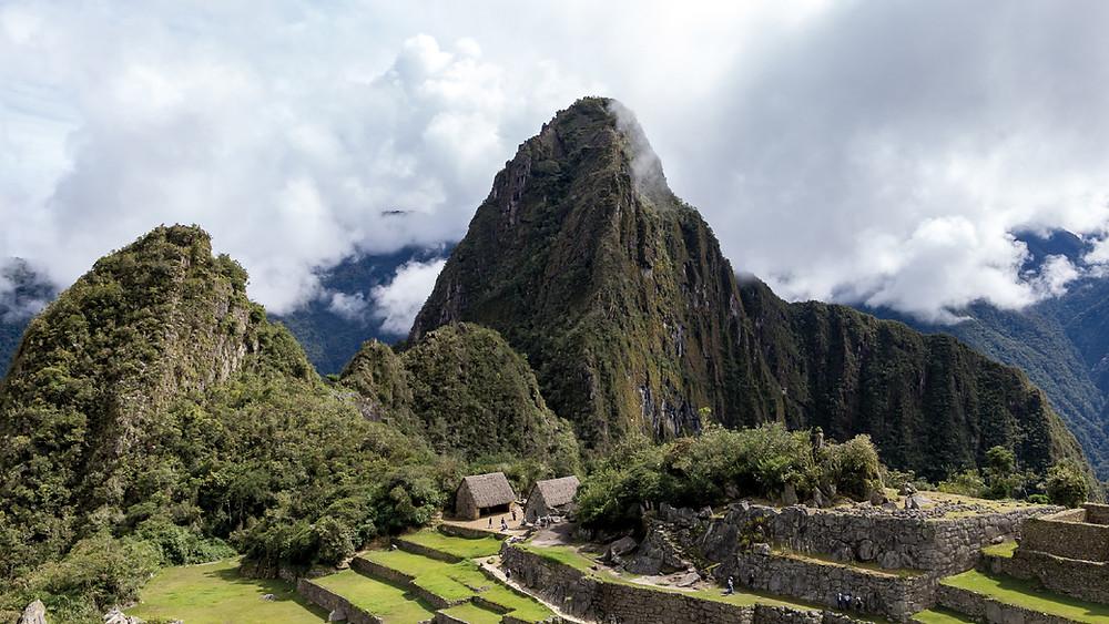 The famous Machu Picchu, the Inca city