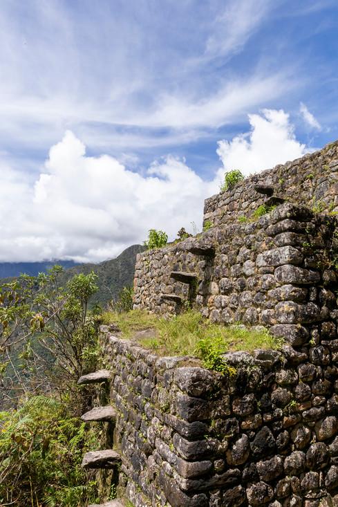 Au sommet du Huayna Picchu
