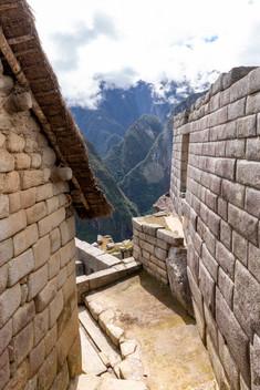 Rues en pierre du Machu Picchu