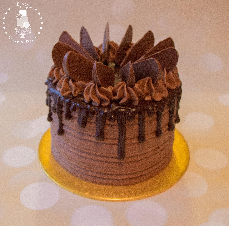 Light Chocolate And Orange Cake