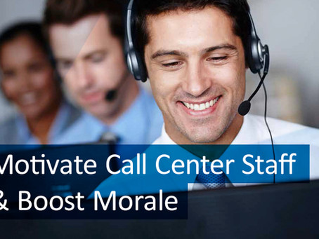 6 Ways to Motivate Your Call Center Staff