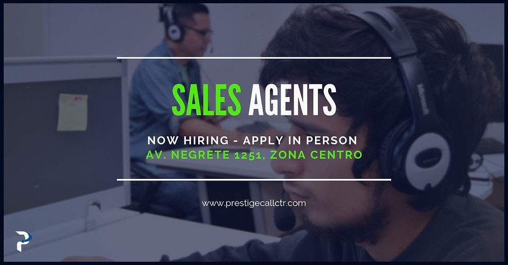 Sales Agents (Two Shifts) - Prestige Call Center