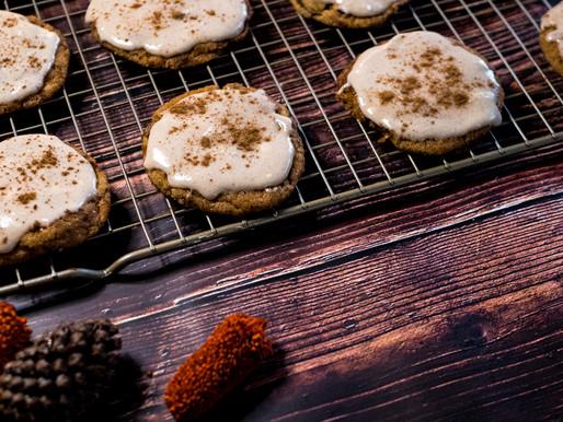 Vegan Sweet Potato Snickerdoodle Cookies