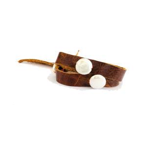 pearl wrap bracelet  $150