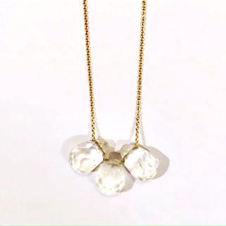 herkimer diamond necklace $295