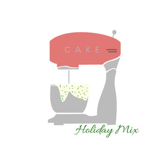 holiday mix - set of 4 cards $20