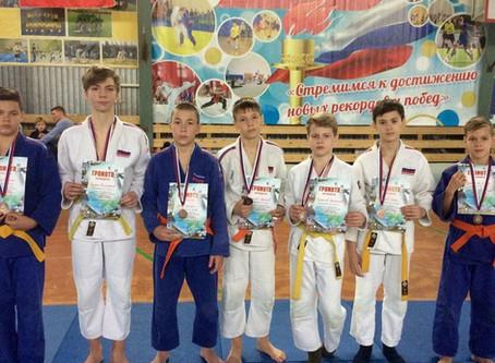 Соревнования Городищенского района ДЮСШ по борьбе дзюдо среди юношей 2007-2008 г.р.