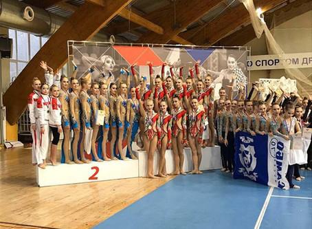 Всероссийские соревнования «Надежды России» по эстетической гимнастике
