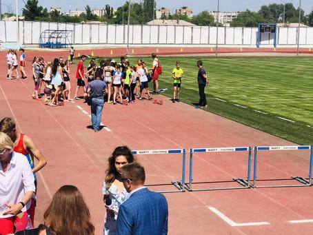 Открытое первенство города Волгограда по лёгкой атлетике, посвященное Дню Защиты детей