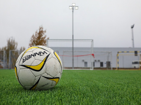Открытие спортивной площадки по мини-футболу