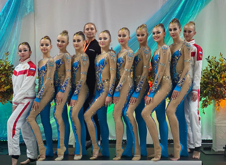 "Команда ""Аэлита"" заняла 2 место на международном турнире в городе Таллин!"