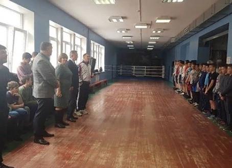 Открытый урок по боксу с тренером Варакиным В.В.