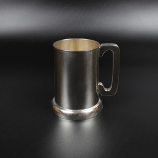 Plain conical mug 1936 11 ½ oz £550