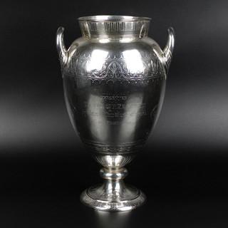 "Silver vase. London, 1871. 23oz. 11"". £1,250.00"