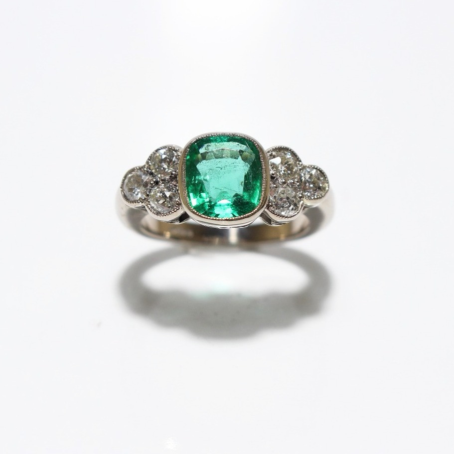 emerald d and views brilliant green round sku more ring cut diamond