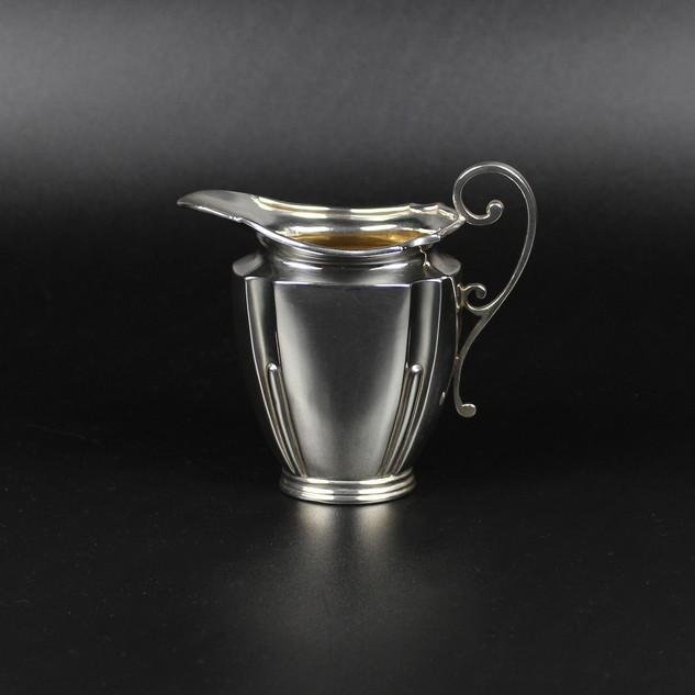 Goldsmiths & Silversmiths Co. 1902   Edwardian part fluted jug  3 oz  £185.00