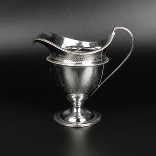 Fine helmet cream jug Solomon Hougham, 1798  £1,450.00