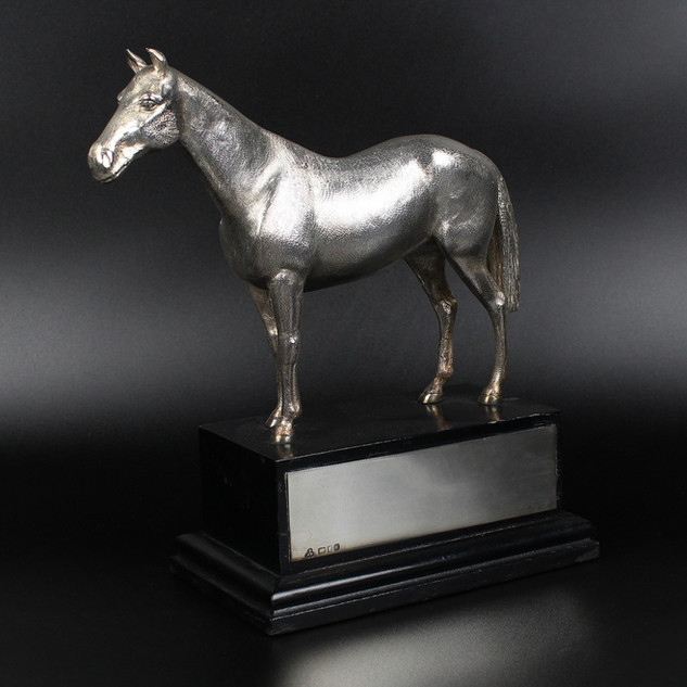 Wakely & Wheeler, London 1982.  Silver Horse.   £ 2,750.00