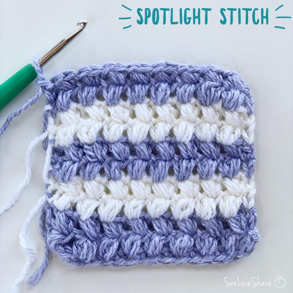 Spotlight Stitch: Bean Stitch