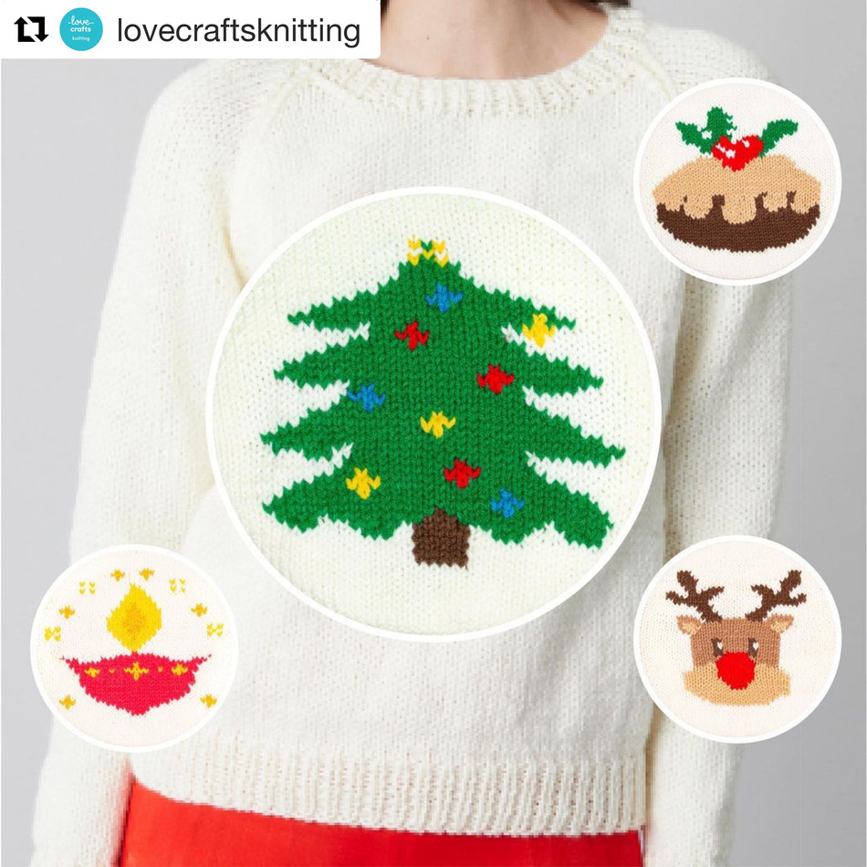 Community Shares: Paintbox Yarns Holiday Sweaters!