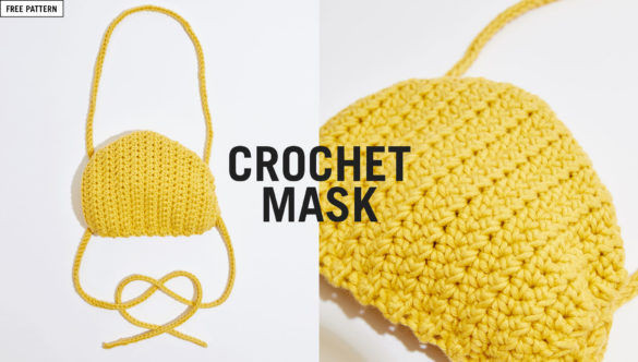 Community Shares: Wool and the Gang Face Mask (Knit & Crochet)