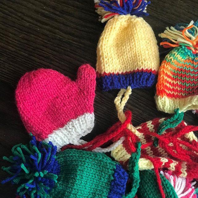 Knit Mitten Ornament