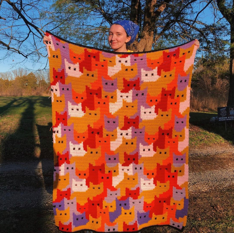 Community Shares: Cats Afghan