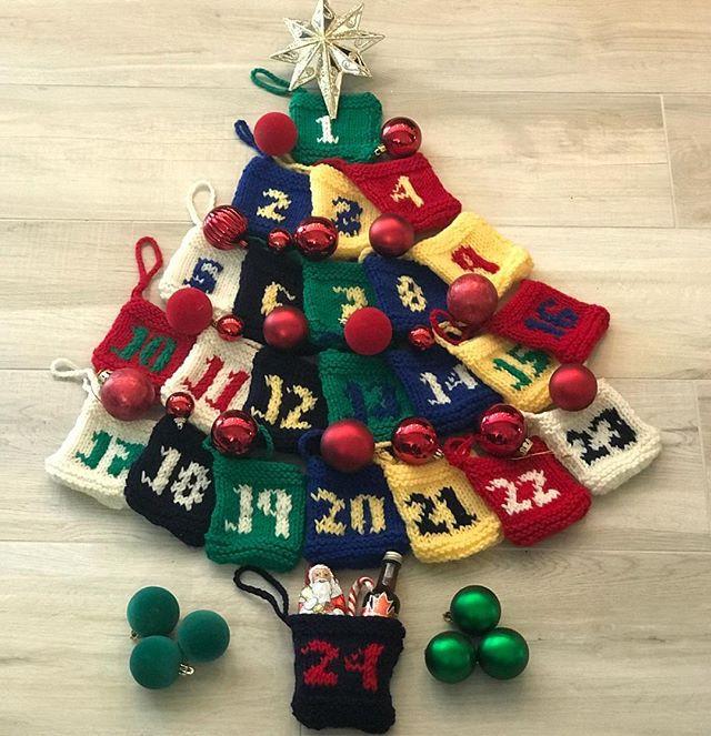 Advent Calendar Gift Pockets