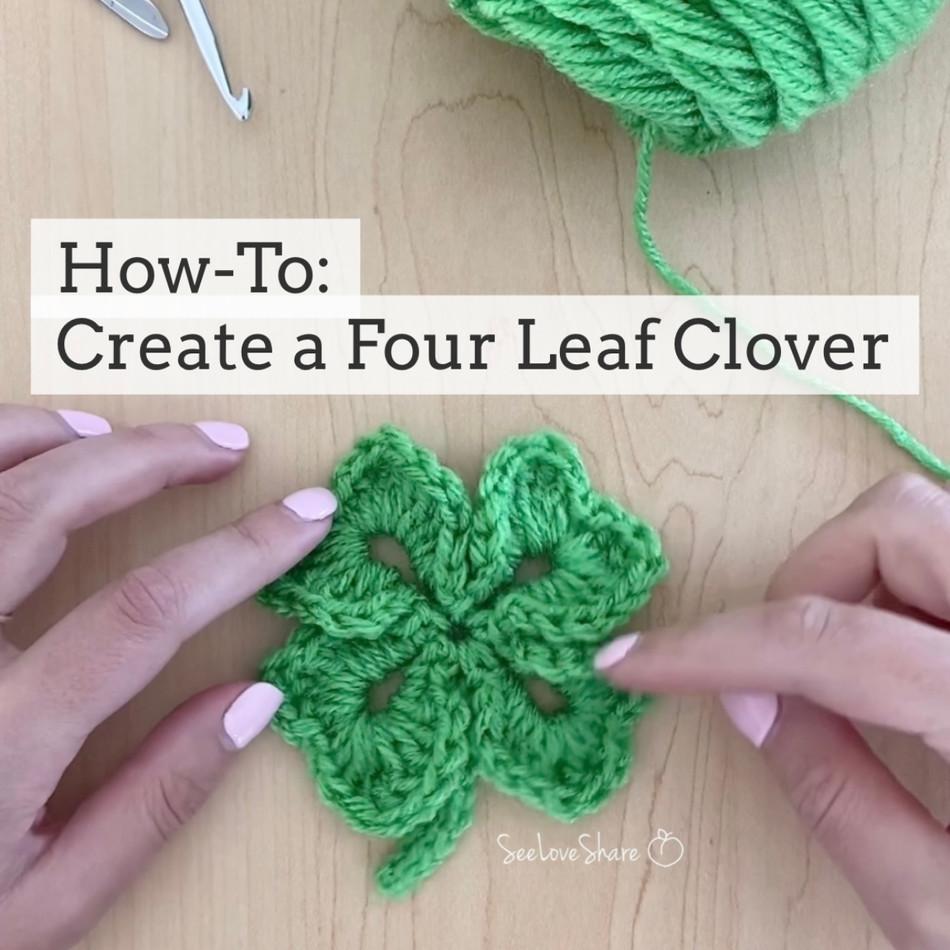 How-To: Create a Four Leaf Clover / Shamrock