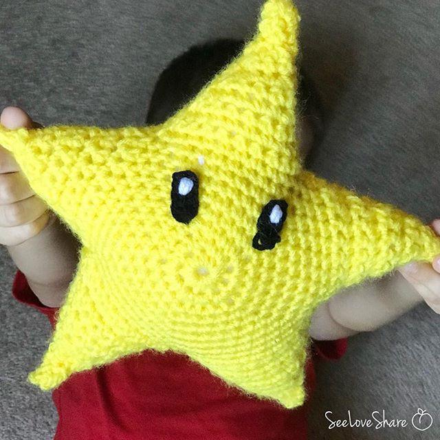Crochet Super Mario Star