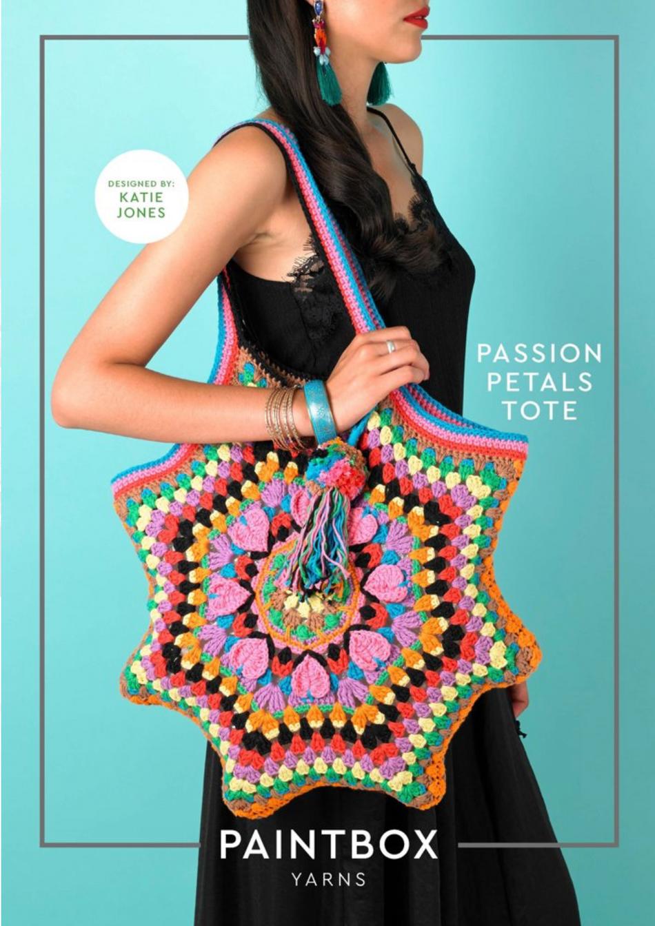 Passion Petal Tote: Free Pattern!